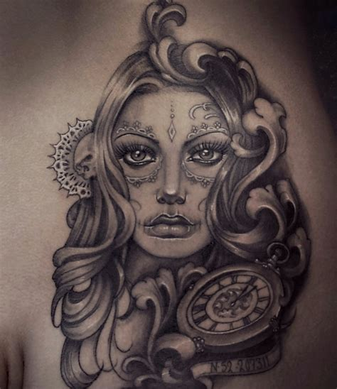 day of the dead tattoo inkredible ink tattoo