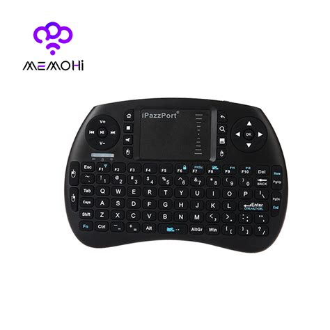 Mini Keyboard Wireless I8 With White Backlight ipazzport backlight i8 version mini wireless keyboard 2 4ghz air mouse touchpad for