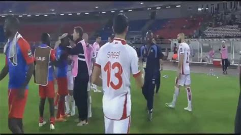 tunisia vs tunisia vs congo dr 1 1 all goals highlights 26 01 2015