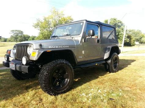Jeep Lj Rubicon Find Used 2006 Jeep Wrangler Rubicon Unlimited Lj In