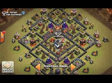 Layout Cv9 War Youtube | layout invenc 205 vel base do teteu cv9 th9 war youtube