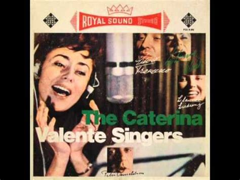caterina valente singer the caterina valente singers stardust youtube