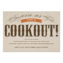 cookout invitations announcements zazzle