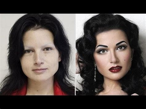 makeover woman 6 youtube oricults 10 stunning before and after make up pics youtube