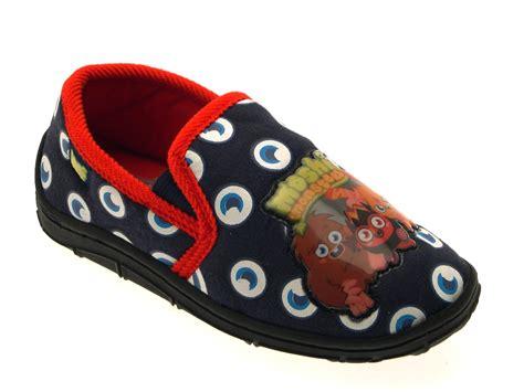 boys slippers size 2 moshi monsters navy blue slippers slipper mules boys