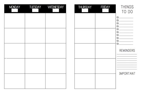 printable plan book template blank calendars for teachers 2018 calendar printable