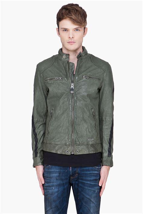 Soft Jackeet Air Blink Cincin Sam Gal V diesel green leather liris jacket