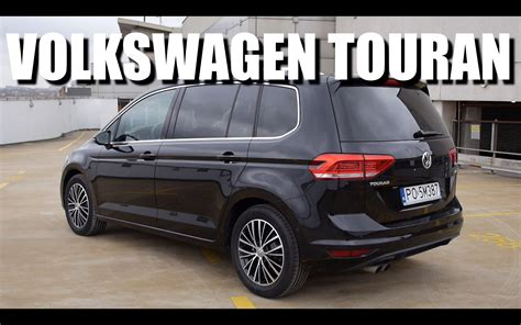 volkswagen minivan 2016 volkswagen touran 2016 eng test drive and review