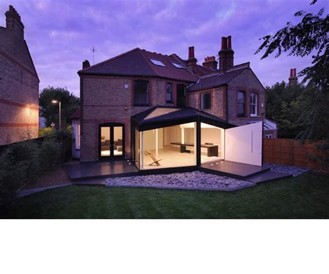 modern house extension designs modern black extension of the victorian house digsdigs