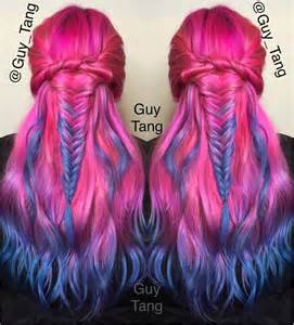Hair Long Dark Purple Red Ombre Violet Red Purple Hair Purple Moreover » Ideas Home Design