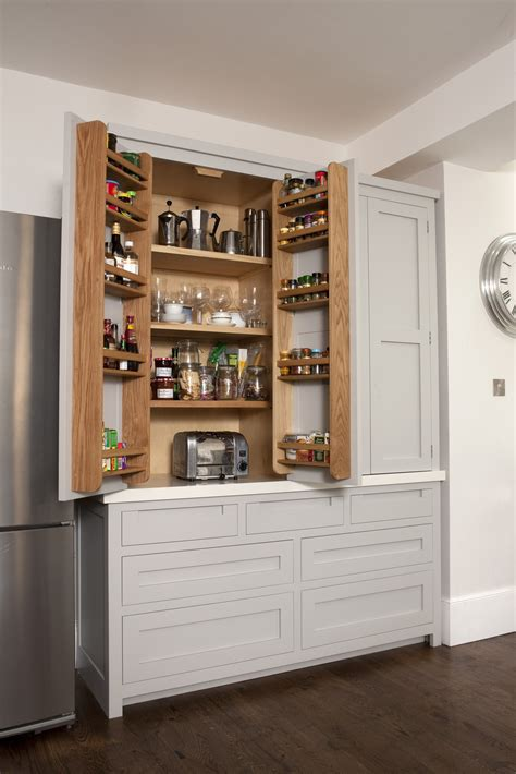 The Pantry Wandsworth by Southfields Handleless Shaker Kitchen Higham Furniture