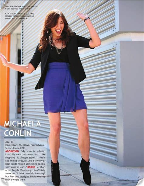 michaela conlin hairstyle on bones episode mayhem on a cross 29 best angela s style images on pinterest michaela