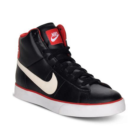 hightop shoes for lyst nike sweet classic leather high top sneakers in