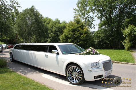 stretch limousine galaxy limos exklusive stretchlimousinen chrysler
