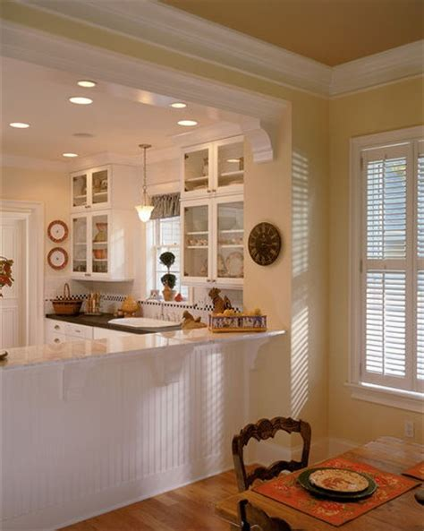 Molding On Pass Through Wainscoting On Kick Wall Kitchen Pass Through Design Pictures