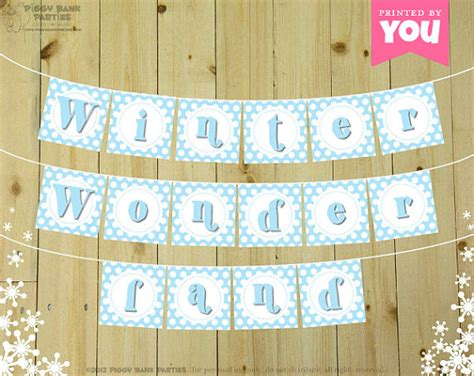 printable snowflake banner 6 best images of free winter banner printable winter