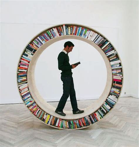 16 most creative and unique bookshelves