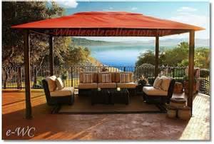 Sunbrella Canopy Pergola by Outdoor 11 X15 Sunbrella Canopy Top Pergola Gazebo Patio