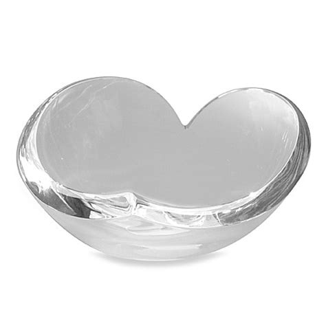 decorative bowls bed bath and beyond nambe decorative crystal heart bowl bed bath beyond