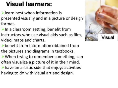 Visual Learner Essay by Leveraging Your Learning Style Effective Study Strategies