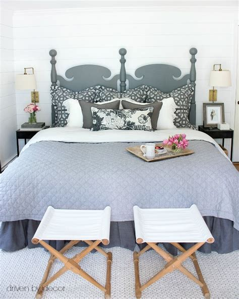 shiplap bedroom how to diy shiplap walls on the cheap driven by decor