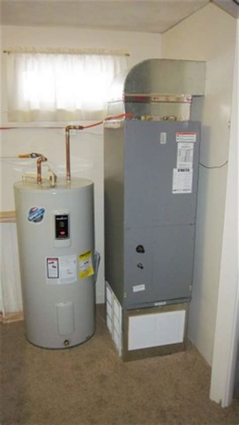 hot water tank and furnace install beaufort services
