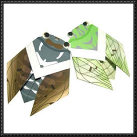 Canon Paper Crafts - new paper craft canon papercraft cicada origami free
