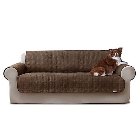 microsuede sofa cover quick cover 174 premium waterproof quilted microsuede sofa