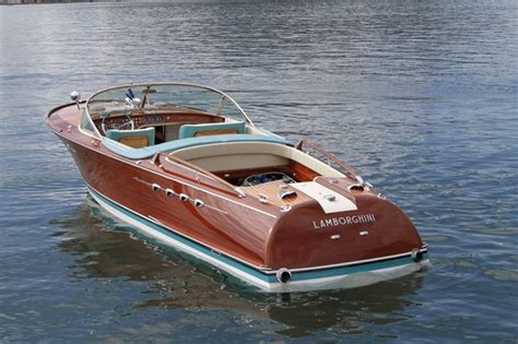 lambo speed boat essential classics the riva aquarama