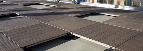 Wood Deck Tiles & Porcelain Pavers for Roof Decks