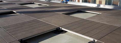 Wood Deck Tiles & Porcelain Pavers for Roof Decks
