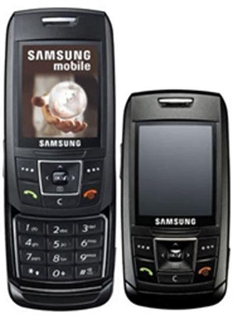 samsung e250 unlocked triband cellular phone black edge