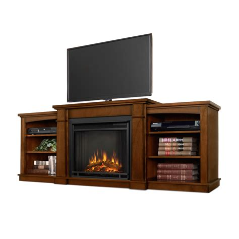 Flameless Fireplaces by Real Hawthorne Electric Fireplace In Burnished Oak