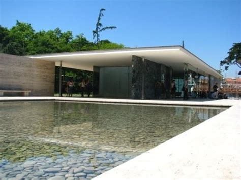 Pavillon Mies Der Rohe by Mies Der Rohe S Pavillion Barcelona Picture Of