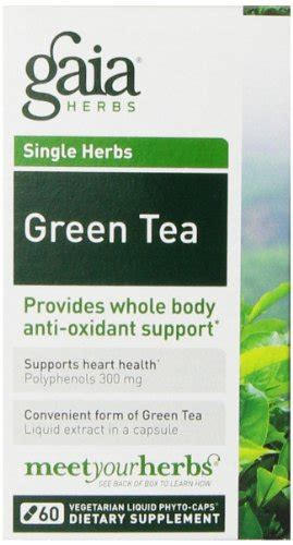 Gaia Cleanse And Detox Tea Reviews by Gaia Herbs Green Tea 60 Liquid Phyto Capsules How To