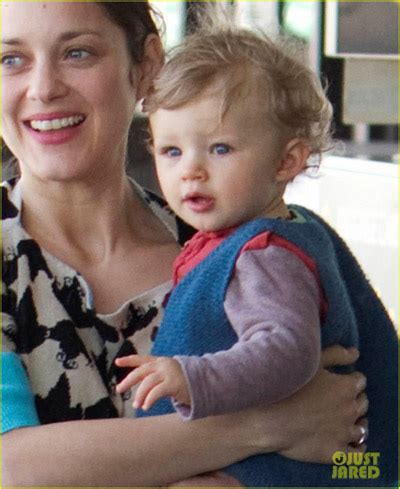 marion cotillard and son @ lax oh no they didn't!