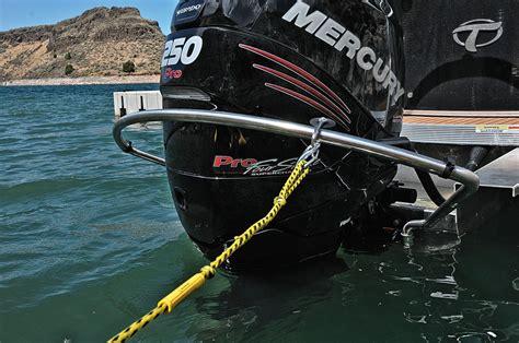 turbo swing turboswing install slideshow pontoon deck boat magazine