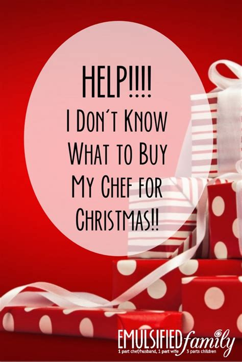 what to buy a chef help i don t know what to buy my chef for christmas