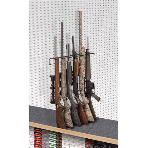 Rifle Display Rack by 1 6 Rifle Leans Left Display Peg Board Sku 6604p