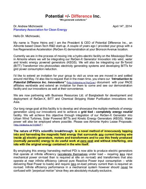 Invitation Letter To Form An Association Planetary Association For Clean Energy Introduction Invitation Lett