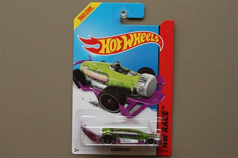 Hotwheels Hw Carbonator wheels 2014 hw race carbonator green purple bottle opener black wheels variation