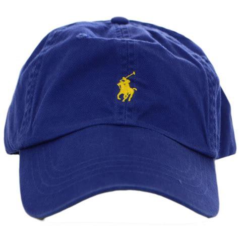 polo ralph blue dolphin polo player baseball cap