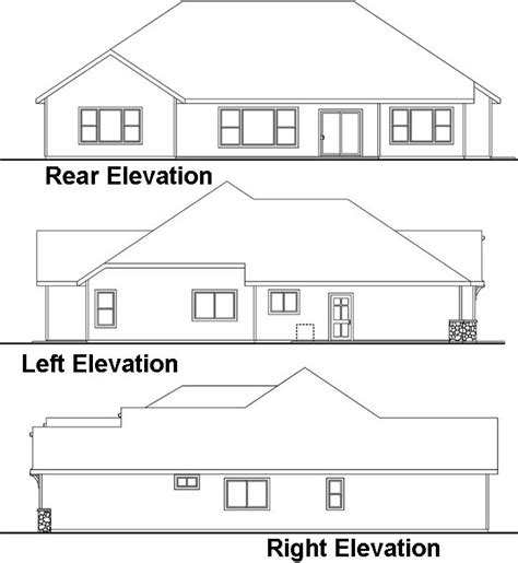 Traditional Style House Plans 2700 Square Foot Home 1 2700 Square Foot Single Story House Plans