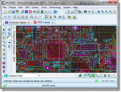 pcb layout software list proteus 8 professional a useful tool for electronic