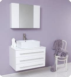 White Floating Bathroom Vanity - the floating wall mounted bathroom vanity