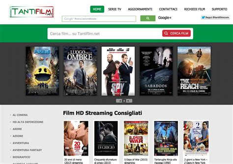 film gratis streaming 2015 dove guardare film in streaming 2015