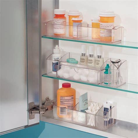 Bathroom Caddy Storage Bathroom Organizer Storage Makeup Medicine Cabinet Drawer Caddy Durable Clear Rv Ebay