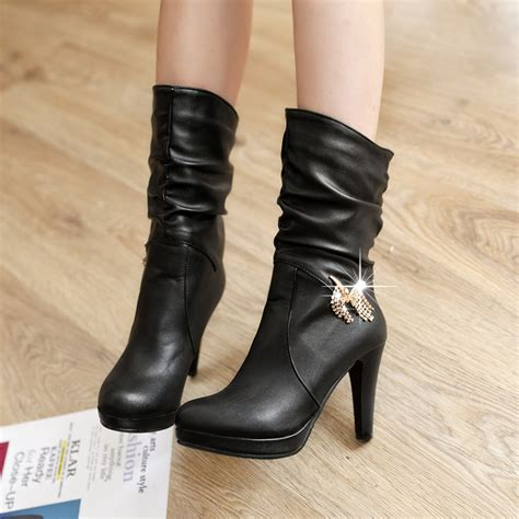 high motorcycle boots high heel motorcycle boots 28 images sale black