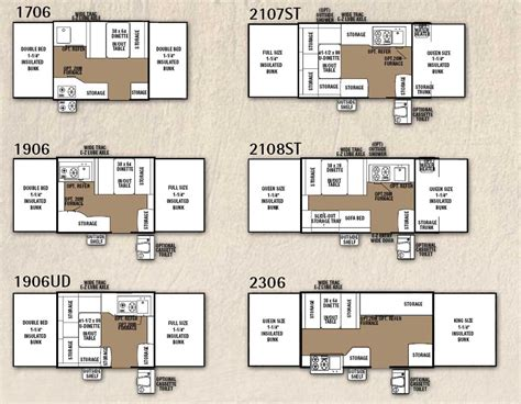 cing trailer floor plans tent trailers floor plans forest river rockwood tent pop