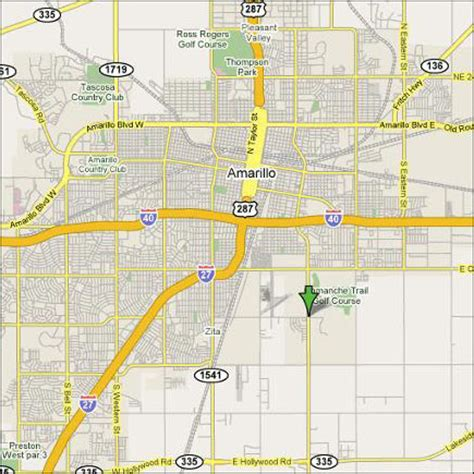 amarillo tx map of texas map of amarillo jorgeroblesforcongress
